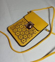 Žuta mini torbica