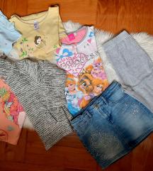 Lot odjeće 116-122