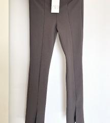 Zara sive tajice sa prorezom
