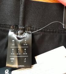 Nove original adidas crne tajice 34-36