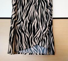 Amisu suknja na preklop