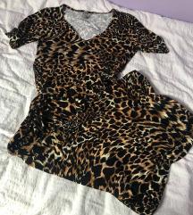 %% Asos maxi duga leopard haljina XS