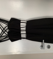 crna haljina za izlaske