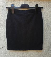 Uska crna suknja