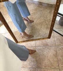 Zara plave svečane hlače/uklj. pt