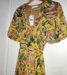NOVO! Mango haljina s tropskim uzorkom XS