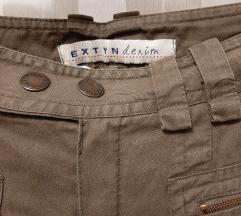 Maslinaste 2/3 hlače