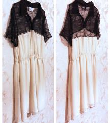 Asos - curve - 50s lace dress - 42 / 44