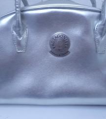 Protagonista torbica srebrna kozna