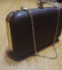 Smeđa pismo torbica