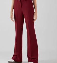Bershka bordo hlače