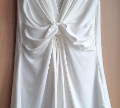 Prodajem svečanu bijelu majicu bez rukava