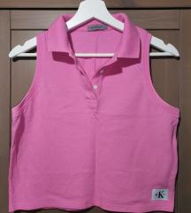 Calvin Klein crop polo majica