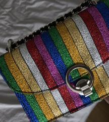 Zara šarena rainbow torbica