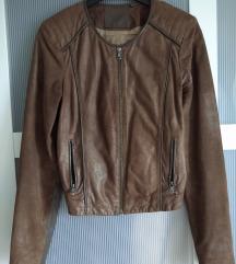 Original Guess kožna jakna vel S!