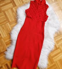 Bandage crvena haljina