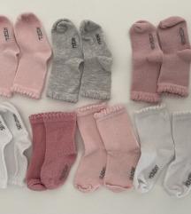 7 pari čarapica za bebe, 18-20