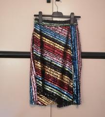 Šljokičava suknja