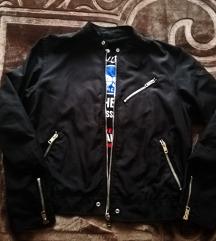Crna muška jakna DIESEL - biker kroj - br L - XL