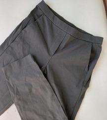 MASSIMO DUTTI zelene poslovne hlače
