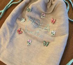 Unikat platnena torba/ vreća