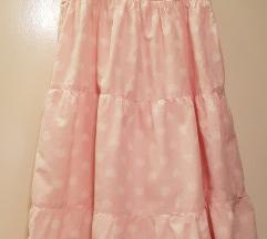 H&M roza haljinica sa srcekima 122