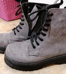 Čizme sive 40
