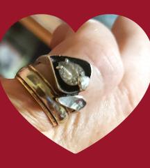 Srebrni 925 prsten