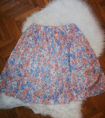 Vintage cvjetna suknja / pt uključena