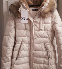 Nova Bijela zimska jakna