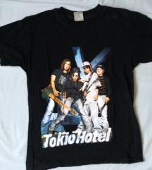 Tokio Hotel kratka crna majica za dječake