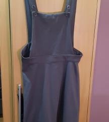siva suknja sa tregerima terranova