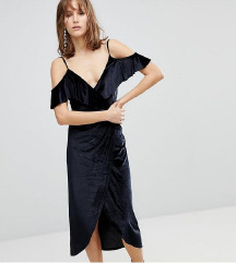 Stradivarius haljina baršun