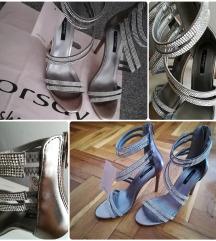 Sandale s cirkonima