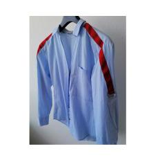 Zara plava košulja s detaljima