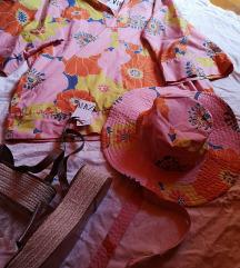 košulja tunika i kapa zara