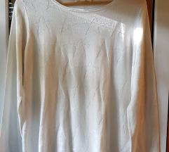 Esprit bijela majica sa zvijezdama