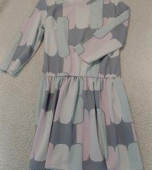 Lagana haljina sa uzorkom