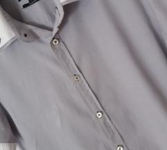 Smog slim fit košulja kratki rukav