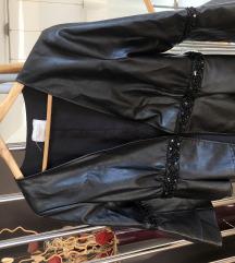 FRACOMINA JEANS kozna jakna