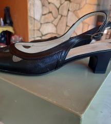 Midi kožne sandale