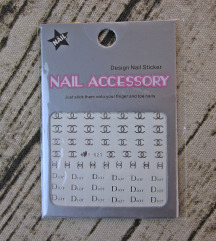 Naljepnice za nokte - Chanel & Dior