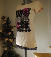 rastezljiva haljina s čipkom
