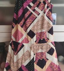 Kratki patchwork kombinezon