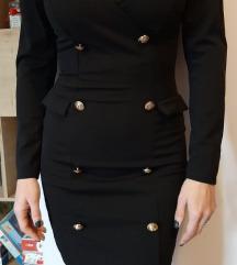 Kratka haljina dugih rukava