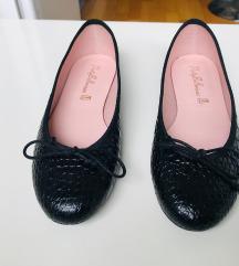 Pretty Ballerinas crne kožne balerinke nove