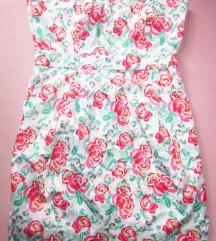 Nova svečana haljina cvijetni uzorak
