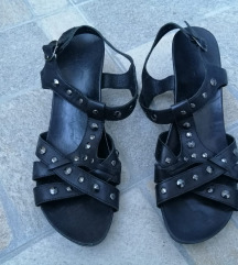 Crne Marc sandale