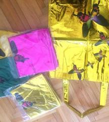 Nove torbe plasticne u raznim bojama