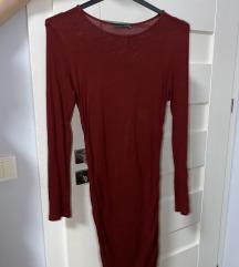 Mini crvena haljina